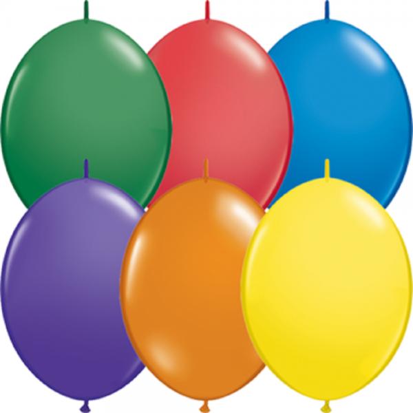 QuickLink Ballon Carnival Sortiment - 30cm