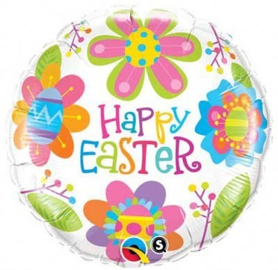 Happy Easter Frohe Ostern Folienballon