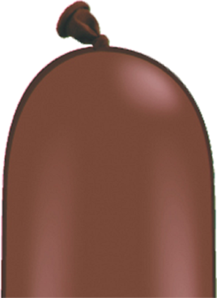 Qualatex 646Q Chocolate Brown (Schoko Braun) Modellierballons