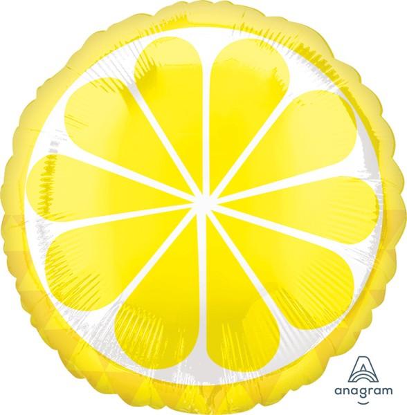 "Lemon Folienballon 45cm 18"""