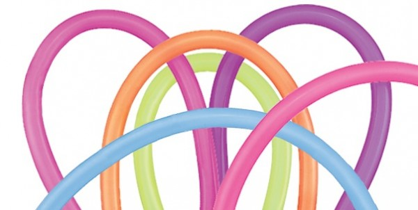 Qualatex 260Q Neon AST Modellierballons