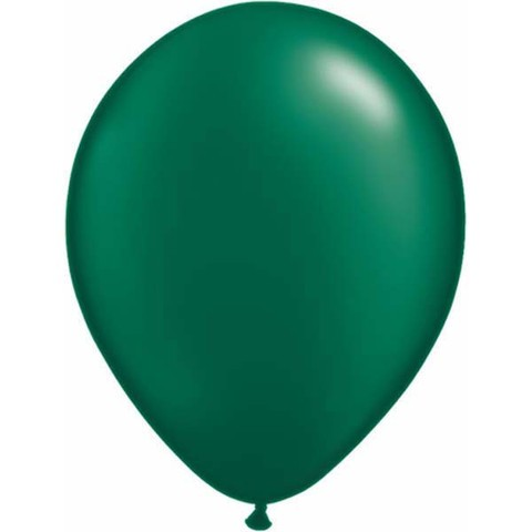 "Qualatex Pearl Forest Green 12,5cm 5"" Luftballon"
