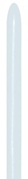 Sempertex 405 Pearl White 160S Modellierballons Weiß