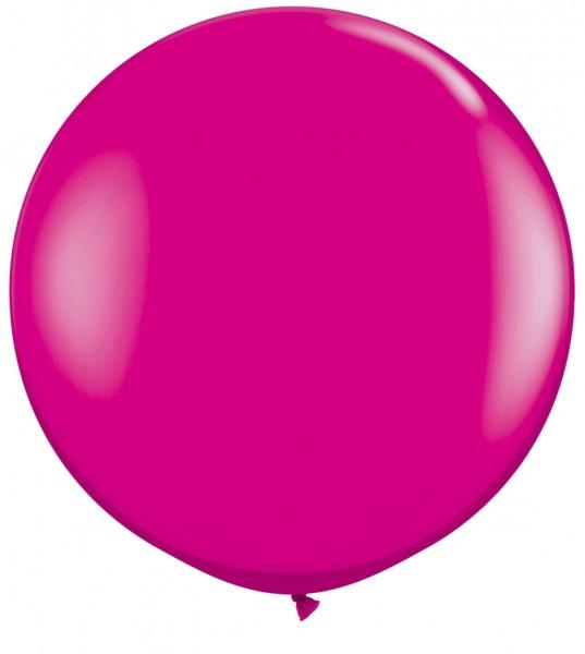"Qualatex Fashion Wild Berry (Pink) 90cm 36"" Latex Riesenluftballons"