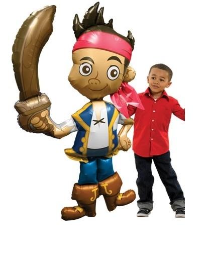 Pirat Jake (and the Neverland) Nimmerland Airwalker Folienballon