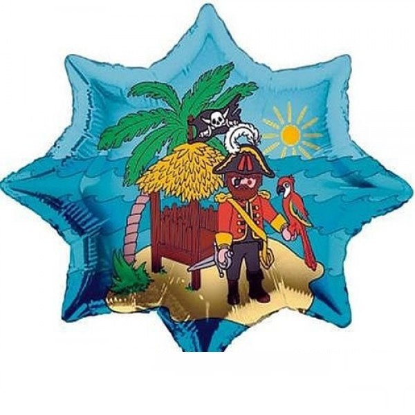 Playmobil Piraten Folienballon - 91cm