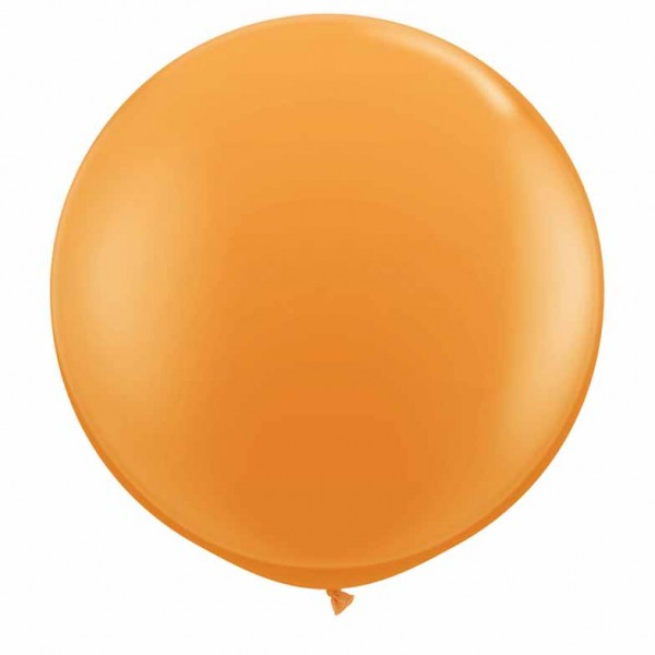 "Riesenluftballon Standard Orange 90cm 36"""