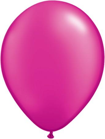 Latex Luftballons Pearl Magenta (Purpur) 10St. - 27,5 cm