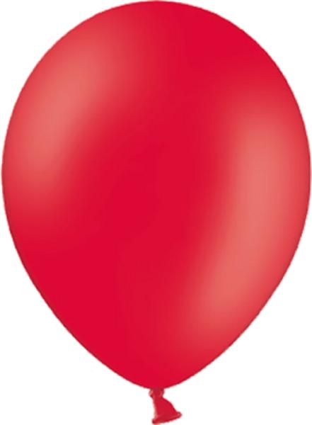 "Belbal 101 Pastel Red Rot 12,5cm 5"" Latex Luftballons"