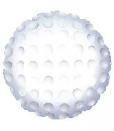 Golfball Folienballon- 45cm