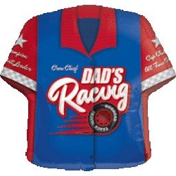 Dad´s Racing Shirt Folienballon - 61cm