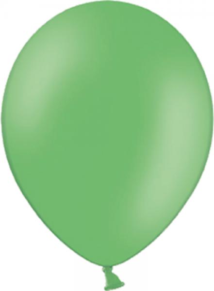 "Belbal 135 Pastel Bright Green Grün 27,5cm 11"" Latex Luftballons"