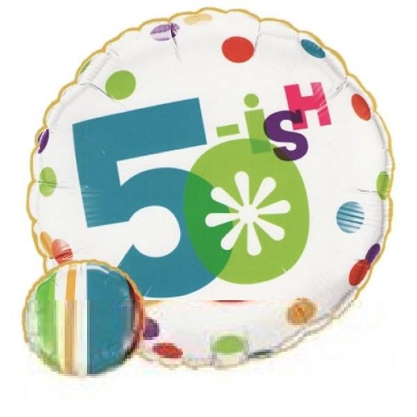 50.Geburtstag Folienballon - 45cm