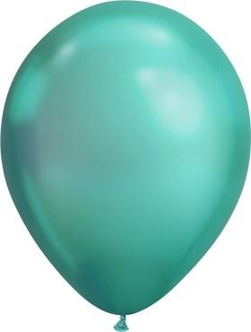 "Qualatex Chrome Green (grün) 18cm 7"" Latex Luftballons 100 Stück"