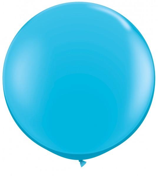 "Riesenluftballon Fashion Robin's Egg Blue 90cm 36"""