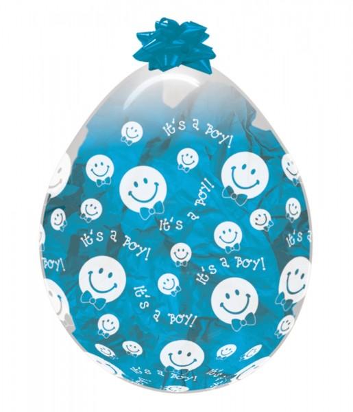 """Verpackungsballons It`s a Boy 45cm 18"""" Sempertex Stuffer"""