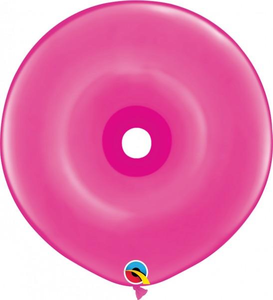 GEO Donut Luftballons Wild Berry (pink) - 41 cm