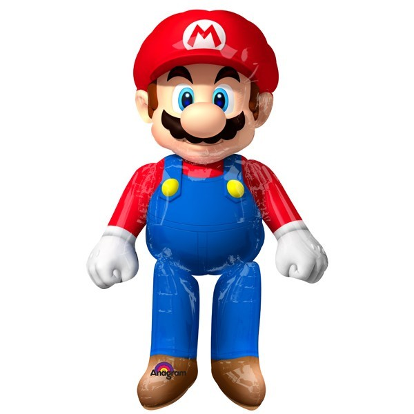 Super Mario Airwalker Folienballon