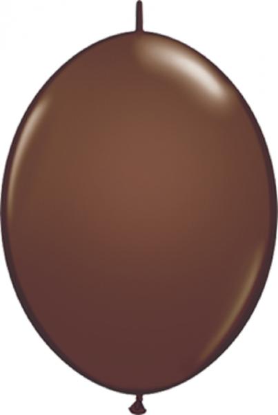 """Qualatex QuickLink Fashion Chocolate Brown 30cm 12"""" Ballon"""