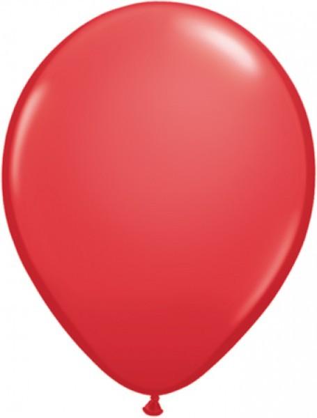 "Qualatex Standard Red (Rot) 12,5cm 5"" Latex Luftballons"