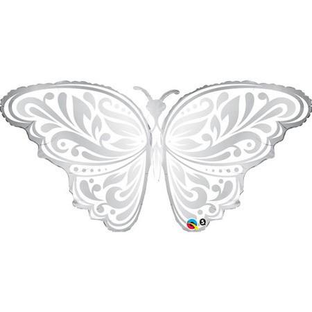 Wedding Butterfly / Hochzeit Schmetterling Folienballon - 112cm 44''