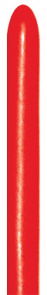 Sempertex 015 Fashion Red 260S Nozzle up Modellierballons Rot
