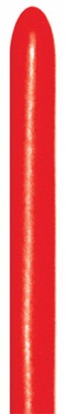 Sempertex Red 015 260S Nozzle up Modellierballons