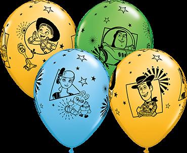 "Disney Pixars Toy Story 4 Special Sortiment 27,5cm 11"" Latex Luftballons Qualatex"
