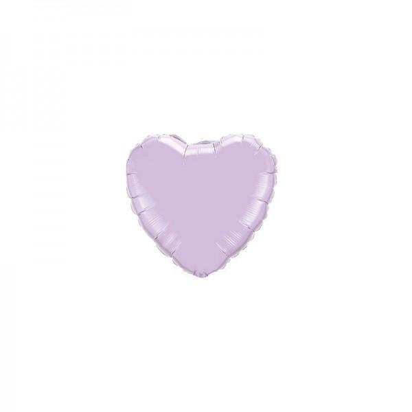 Folienballon Herz Lavendel