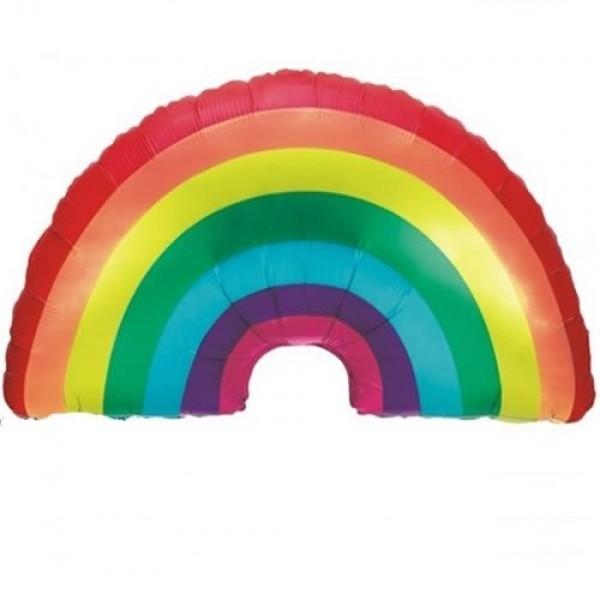 Regenbogen Folienballon - 91cm