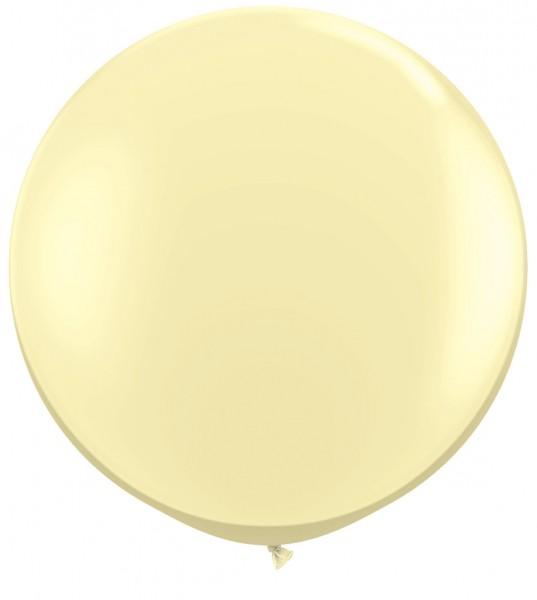 """Qualatex Fashion Ivory Silk (Elfenbein) 90cm 36"""" Latex Riesenluftballons"""