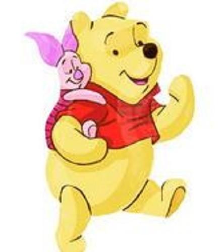 "Winnie the Pooh und Ferkel Disney Folienballon - 80cm 32"""