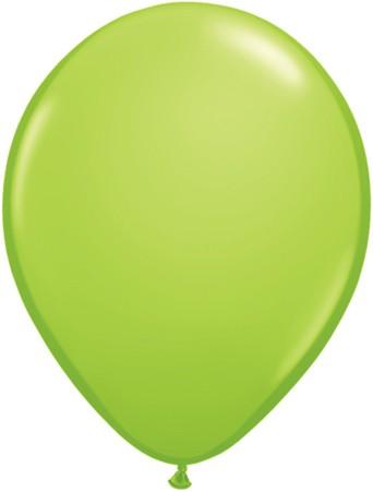 """Qualatex Fashion Lime Green (Grün) 27,5cm 11"""" Latex Luftballons"""