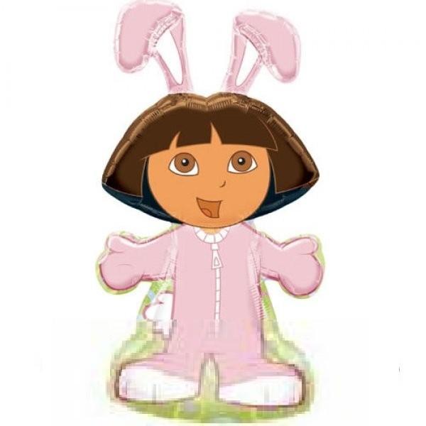 Dora im Hasenkostüm - 86cm