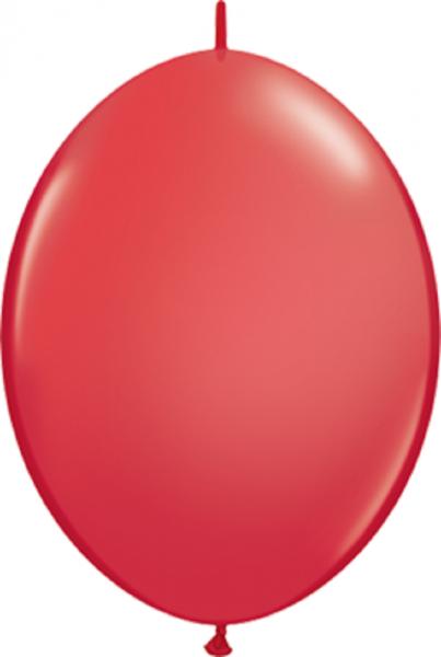 "QuickLink Standard Red (Rot) 15cm 6"" Latex Luftballons Qualatex"