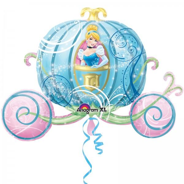 Disney Kutsche Cinderella Folienballon