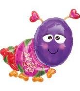 Liebe Love every inch of you Folienballon