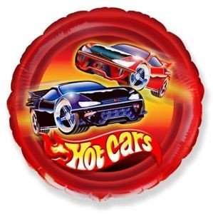 Hot Cars Folienballon - 45cm
