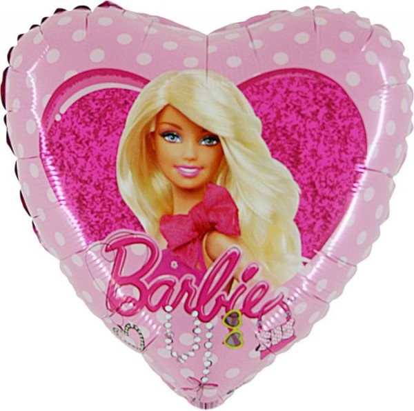 Barbie Folienballon - 45cm