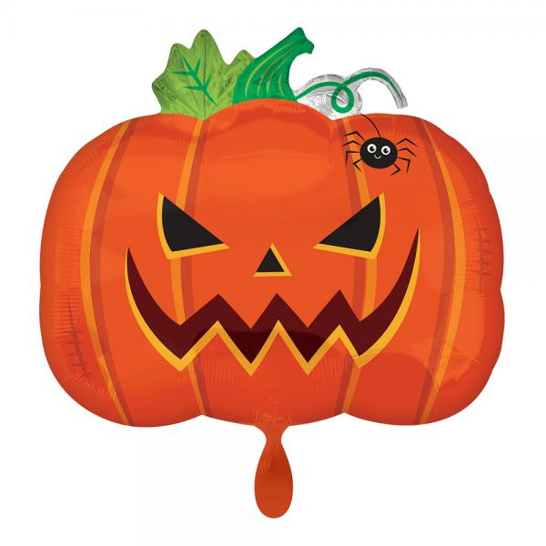 Frightful Pumpkin Gruseliger Kürbis Folienballon - 50cm 19''