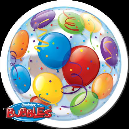Qualatex Bubble Luftballons