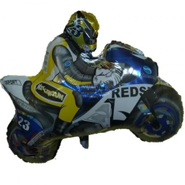Motorbike Moped Folienballon - 80cm