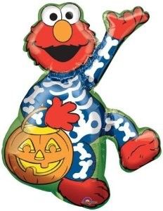 Halloween Elmo Folienballon - 96cm