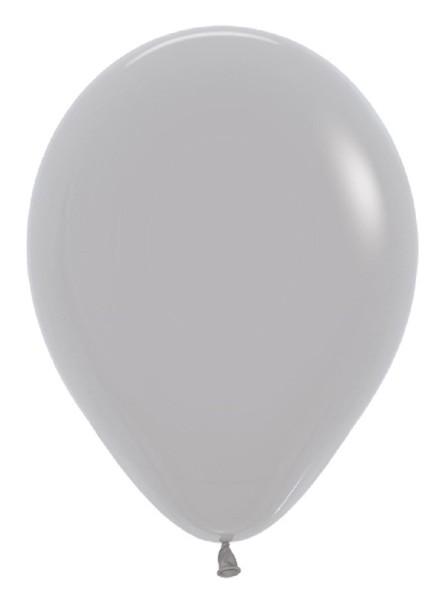 "Sempertex 081 Fashion Grey (Grau) 30cm 12"" Latex Luftballons"