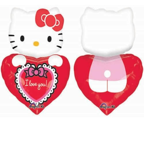 Hello Kitty mit Herz - i love you - 74cm