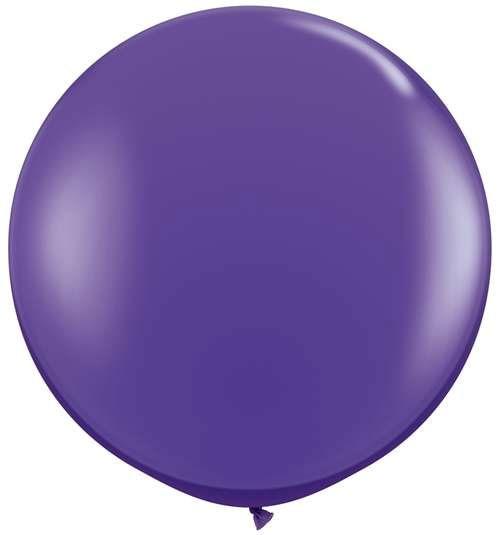 """Qualatex Fashion Purple Violet (Lila) 90cm 36"""" Latex Riesenluftballons"""