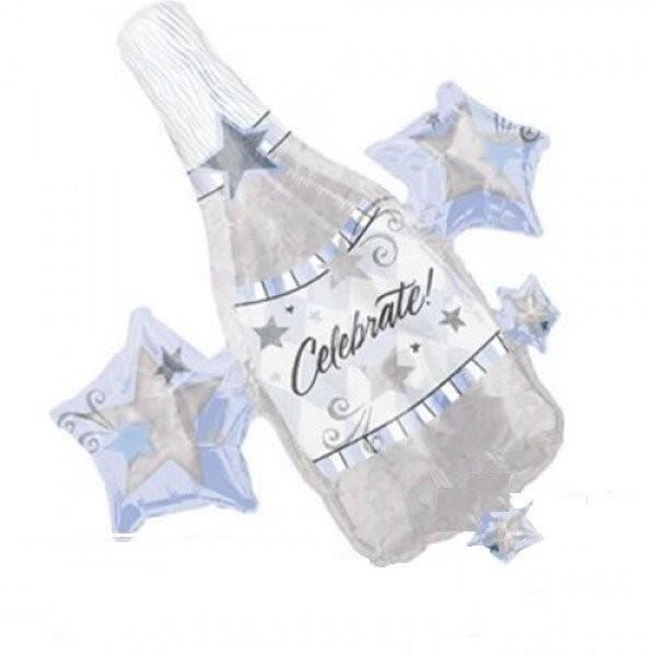 Celebrate Sekt Flasche - 76cm