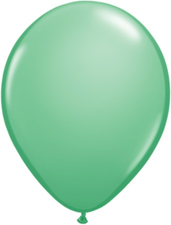 Latex Luftballons Fashion Wintergreen (Winter- Grün) 10St. - 27,5 cm