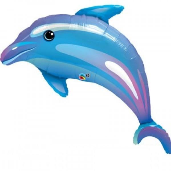 Folienballon Delfin - 100cm