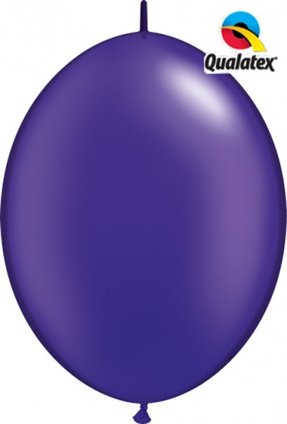"Qualatex QuickLink Lila 30cm 12"" Ballons"